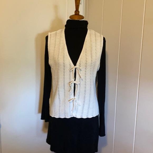 Crochet looking vest